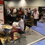 KickStrap booth at NAMM 2016