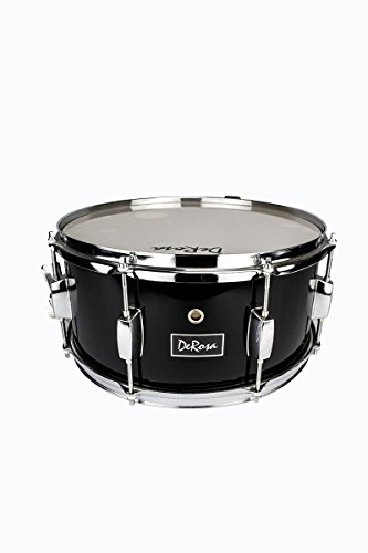 pemium 14 black snare drum kit with deluxe backpack drum sticks snare strap practice pad tuning. Black Bedroom Furniture Sets. Home Design Ideas