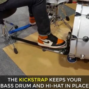 kickstrap stops drums from sliding